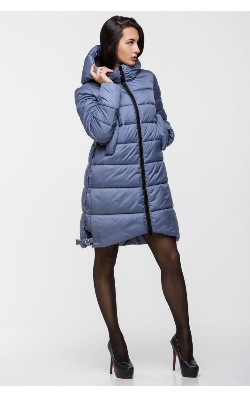 62de2cfa679c Зимняя удобная куртка KTL-131 (595 темно-голубой)