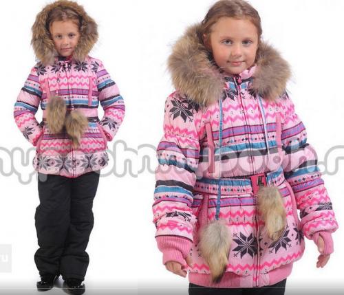 3363 Костюм для девочки зимний