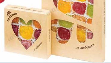 АССОРТИ (персик,мята,малина, клубника, дыня) . Мармелад