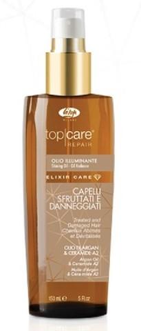 Масло-эликсир для восстановления и придания сияющего блеска - «Top Care Repair Elixir Care Oil»