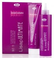 """Набор косметический Kit 1-Lisap Ultimate, в составе: Разглаживающий крем для натуральных волос """"1 Straightening Cream for Natural Hair"""", Кондиционирующее нейтрализующее молочко """"N Conditioning Neutralizing Milk"""" (250+250 мл)"""