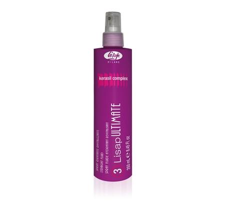 Разглаживающий, термо-защищающий флюид для волос «3-LISAP ULTIMATE STRAIGHT FLUID»