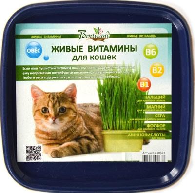 Живые  ВИТАМИНЫ для кошек