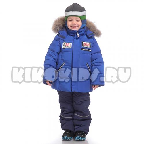4606м Костюм для мальчика зимний  (хаки/серый)