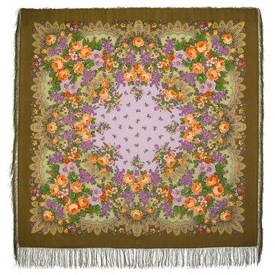 Платок «Цветет сирень»  1360-10