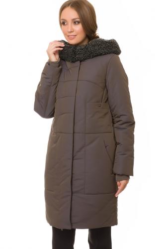 Утепленное пальто #67195