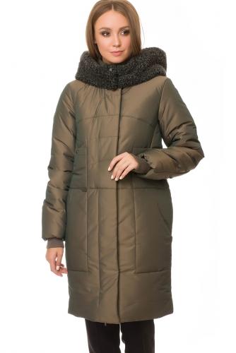 Утепленное пальто #67200