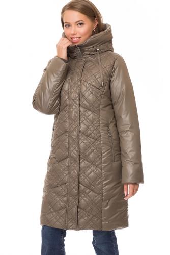 Утепленное пальто #67826