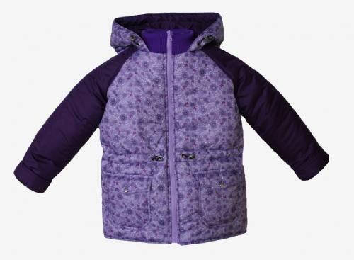 Куртка демисезонная для девочки арт. 1250 (110-128)