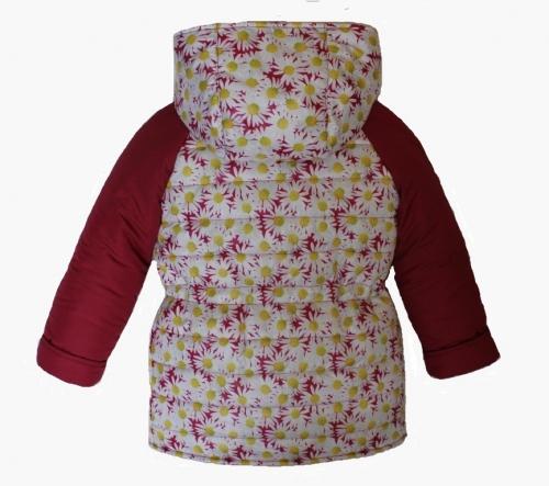 Куртка демисезонная для девочки арт. 1105 (110-128)