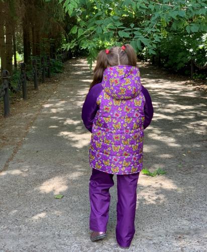 Куртка демисезонная для девочки арт. 1106 (134-146)