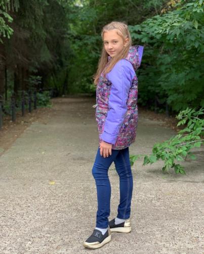 Куртка демисезонная для девочки арт. 1108 (134-146)