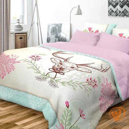 Комплект постельного белья Волшебная ночь Forest полутораспальный, ранфорс 701872