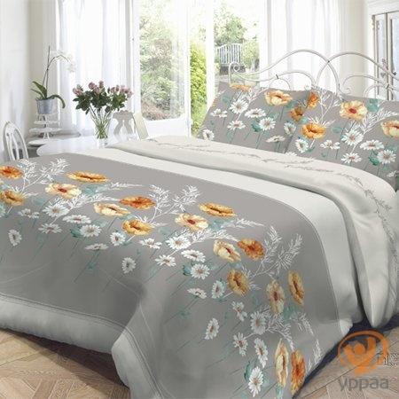 Комплект постельного белья Нежность Марта полутораспальный, поплин 191476
