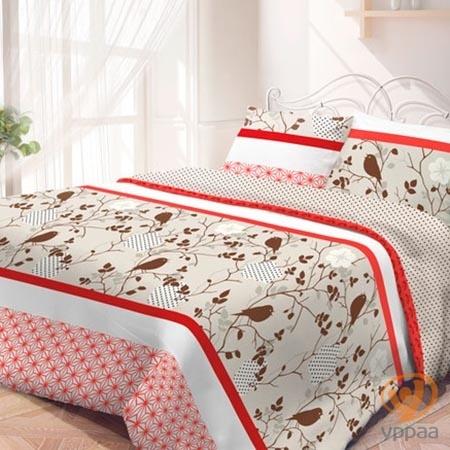Комплект постельного белья Гармония Летний сад полутораспальный, поплин 190833