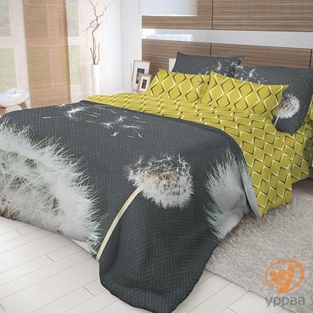 Комплект постельного белья Волшебная ночь Dandelion полутораспальный, ранфорс 702173