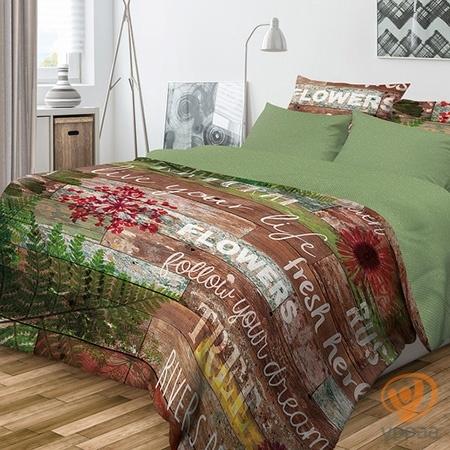 Комплект постельного белья Волшебная ночь Natural полутораспальный, ранфорс 701958