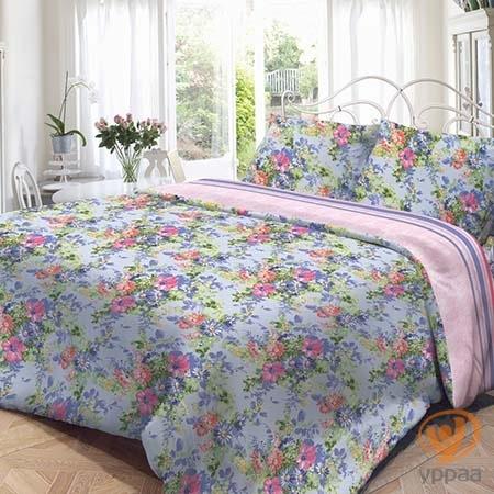 Комплект постельного белья Нежность Полина полутораспальный, поплин 191479