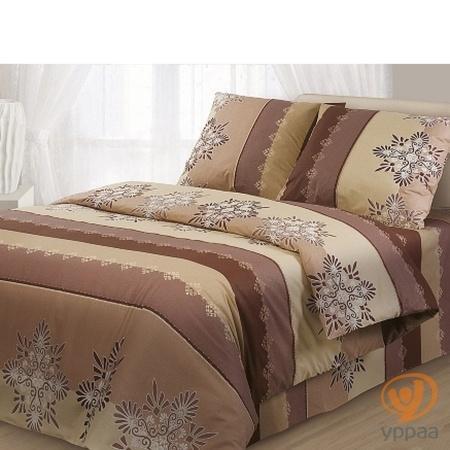 Комплект постельного белья Гармония Французский трюфель полутораспальный, поплин 171680
