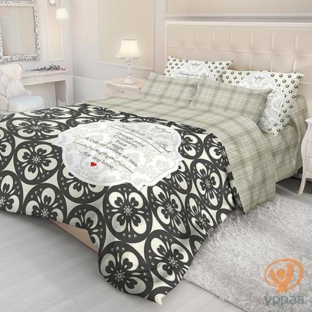 Комплект постельного белья Волшебная ночь Breakfast полутораспальный, ранфорс 702114