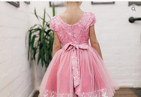 Платье для девочки Орхидея Ж18-1 аметист