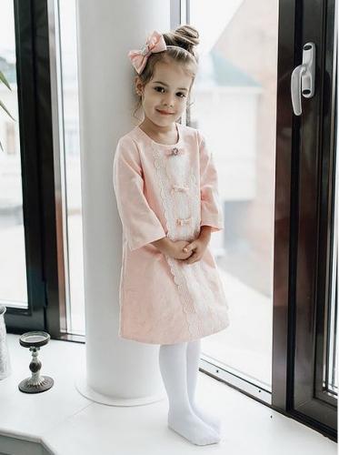 Платье для девочки Ж18-2 Сьюзи персик