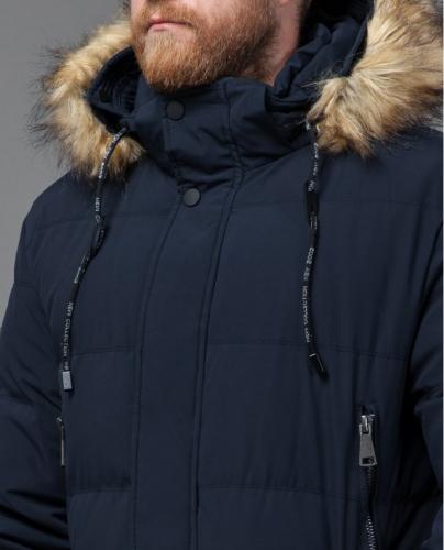 Куртка Tiger Force темно-синего цвета с капюшоном модель 76420