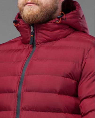 Мужская куртка Тайгер Форс с карманами красная модель 77282