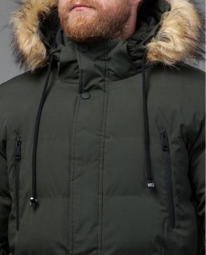 Куртка темно-зеленая Tiger Force на зиму модель 70450