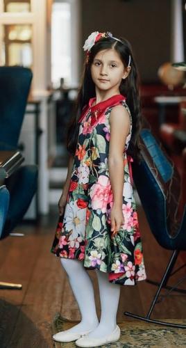 Платье А-18-2 Флора