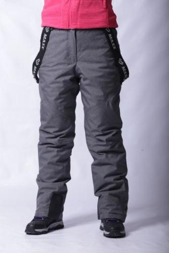 Брюки  г/л Махх 301700 с.серый