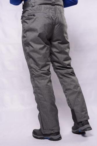 Брюки г/л Махх 301701 т.серый