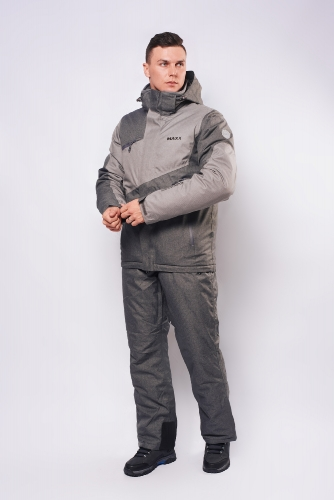 Куртка Махх г/л 201703 серый