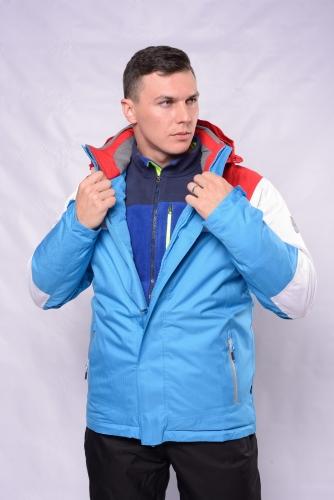 Куртка Махх г/л 201701 голубой