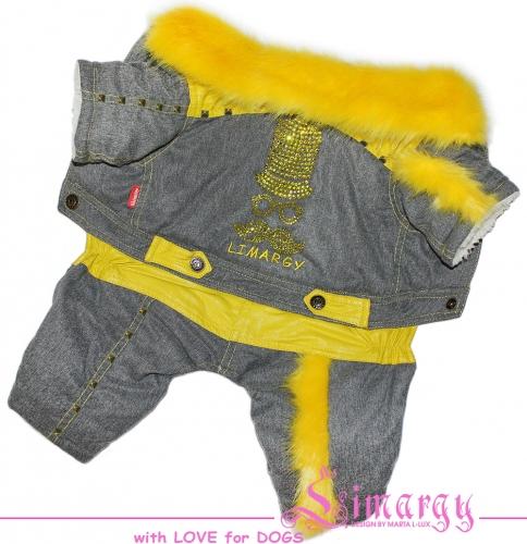 662 р. 946 р. Lim010626-2 Зимний комбинезон 'Hips' желтый