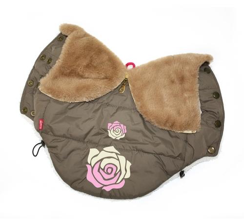 735 р. 1050 р. 10933 Куртка 'Rose' коричневая