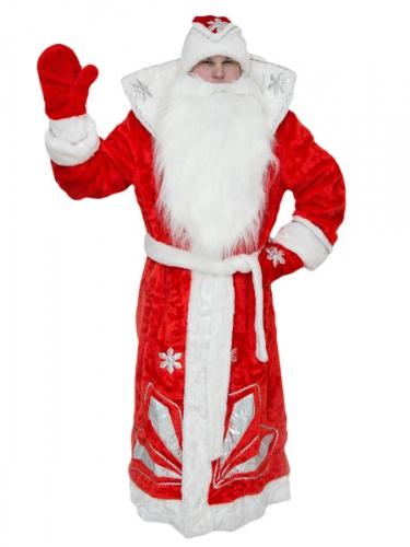Карнавальный костюм Дед Мороз (люкс)