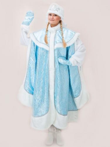 Карнавальный костюм Снегурочка Боярская парча