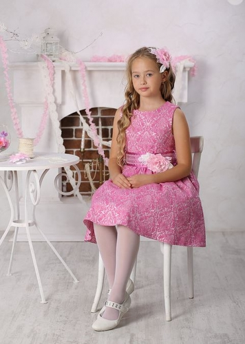 платье для девочки Милана М-257 сирень