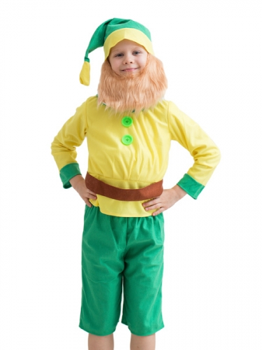Карнавальный костюм Гном с пуговицами
