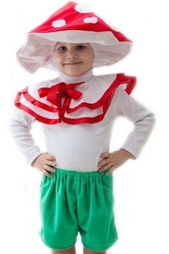 Карнавальный костюм Гриб большой