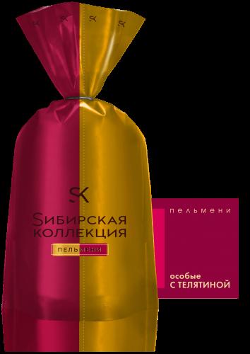 Пельмени Особые с телятиной Сибирская коллекция