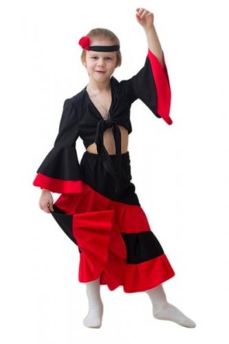 Карнавальный костюм Испанка дет.