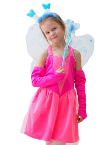 Карнавальный костюм Сказочная Фея в розовом