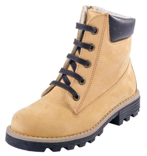 Ботинки желтый