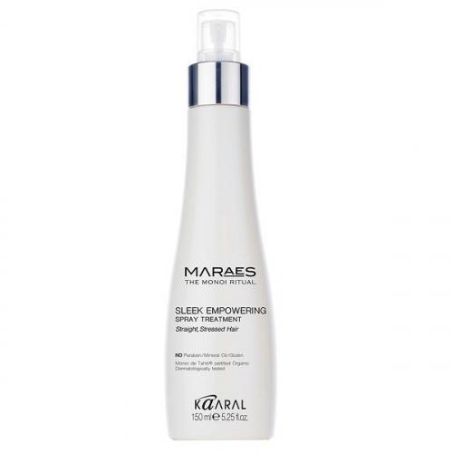 MARAES Sleek Empowering Spray Treatment. Восстанавливающий несмываемый спрей для прямых поврежденных волос.