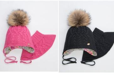 ДЕНИЗА комплект   (шапка, шарф-воротник)