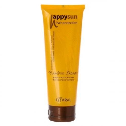 Happy Sun Bamboo Shower after-sun shower shampoo. Шампунь для волос и тела