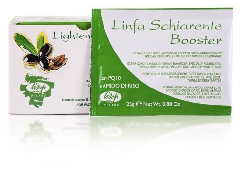 """Порошковый усилитель осветления волос """"Linfa Schiarente Booster Lightener powder"""""""