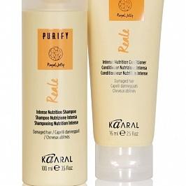 Purify- Reale дорожный набор (шампунь 100 мл + кондиционер 75 мл)